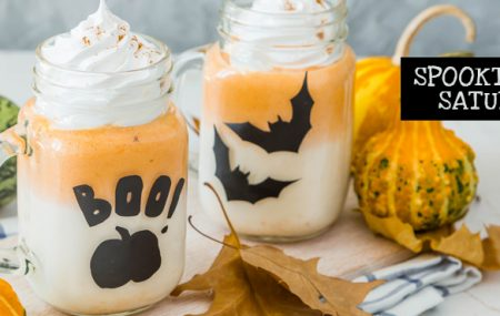 Stir up some scary fun with these easy-to-make,  kid-friendly Halloween drink recipes. Featuring both bone-chilling cold drinks and hair-raising hot drinks, these 5 drinks are sure to delight all the ghosts and goblins at your next Halloween get-together. #spooktacularsaturdays     Share Post:   Graphics Credit: All images purchased through bigstock.com