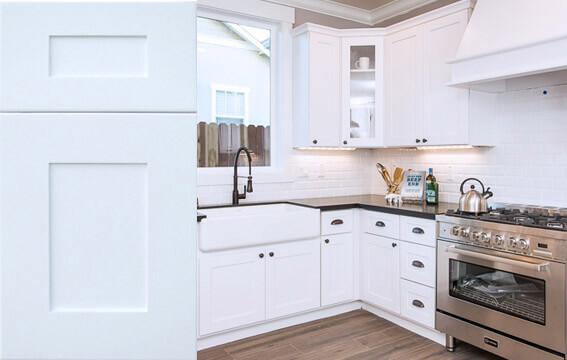 stock-door-kitchen-gfparkplacewhite - Williams Kitchen & Bath