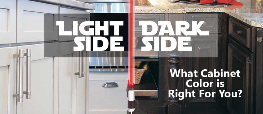 Light Side Vs Dark Side What Cabinet Color Is Right For You Williams Kitchen Bath