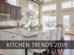 Top 5 Kitchen Trends  in 2019